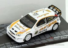 1/43 FORD FOCUS RS WRC ROSSI MONZA RALLY SHOW 2006 IXO EAGLEMOSS DIECAST