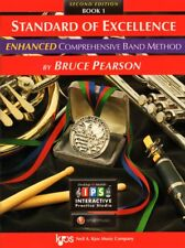 Standard Of Excellence Enhanced Music Book 1 W/Online Access-Trumpet Brand New!