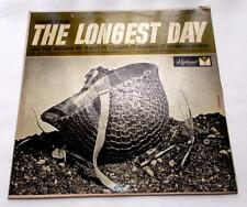 The Longest Day Sounds of D-Day to VE-Day 1962 Diplomat 2284 Military Strong VG+