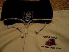 Volvo 770 Test Drive Tour Truck Trucker Jacket Coat for over Shirt XL