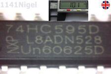 74HC595D 74HC595 8-Bit Shift Register SOP-16 NXP IC New