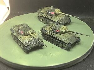 Flames of War Painted Hungarian Panther Plt