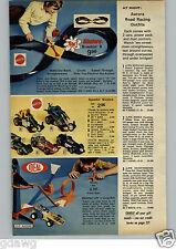 1972 PAPER AD 3 Pg Raceway Aurora AFX Sizzlers Train Lionel Sound Steam Marx