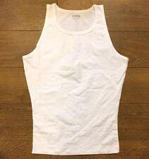 Spanx 642 Men's Cotton Control Tank Top Undershirt sz M MEDIUM NWOB white READ