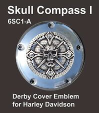 Harley Derby Cover Motorcycle Emblem Skull Compass I Zambini Bros MFA