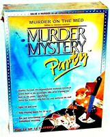 Murder On The Med Murder Mystery Party Game Crime Detective Game 2000 Sealed NEW