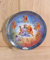 Winnie The Pooh Hundred Acre Hugs Happiness Plate Bradford Exchange - 1st Issue