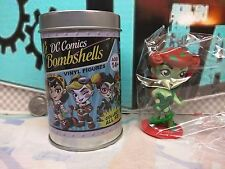 "IVY DC BOMBSHELLS - 3"" Figure with TIN (Dented) - Classic Nerd Block - 06/17"