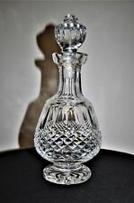 """STUNNING WATERFORD """"COLLEEN""""  CUT GLASSFOOTED BRANDY DECANTER"""