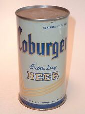 12oz Coburger Extra Dry Beer Flat Top - Horlacher Brewing Co. Allentown Pa.