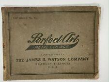 Vintage Stamped Sheet Metal Ceiling Catalog Victorian