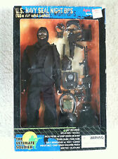 The Ultimate Soldier U.S. Navy Seal Night Ops Sea Air Land action figure weapons
