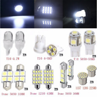 14PCS 7Sizes LED Interior Package Kit For T10 36mm Map Dome License Plate Lights