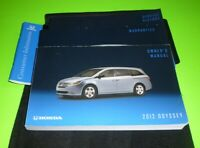 2012 HONDA ODYSSEY OWNERS MANUAL SET GUIDE 12 LX EX EX-L TOURING ELITE +CASE