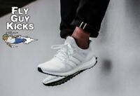 New Authentic Adidas Ultra Boost 4.0 Triple Cloud White Black BB6168 Off Grey