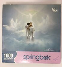 Springbok Welcome Home Jigsaw Puzzle 1000 Pieces 2004 Religious Heaven