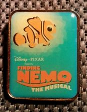 DISNEY 2008 PIXAR FINDING NEMO THE MUSICAL FROM ANIMAL KINGDOM HAT SET PIN