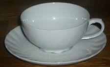 1 Teetasse + Untertasse   Seltmann Weiden  REGINA  WEISS