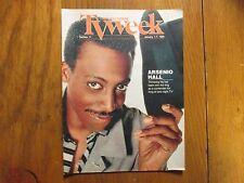 January 1, 1989 Chicago Tribune TV Week (ARSENIO  HALL/THE  ARNENIO  HALL  SHOW)