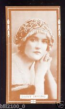 PHOTO . IMAGE ANCIENNE DE COLLECTION .. Daisy Irving. ACTRICE .ACTRESS .