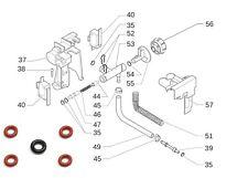 Saeco Incanto & Gaggia Titanium Steam Valve O-rings/ Gaskets