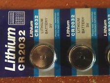 Battery CR2032 BR2032 Bulk 10 Pack Of 5 -(50 In Total) FREE SHIPPING FROM CANADA