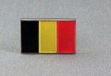 Belgium / Belgian Flag Enamel & Metal Lapel / Pin Badge - 24mm BRAND NEW