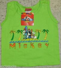 Mickey Mouse Youth Kids Tank Top shirt sz. 2T/3T NEW w. Tags! Disney Donald Duck