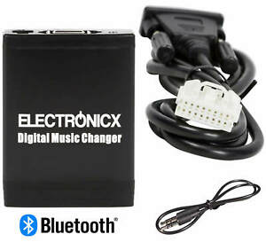 Adapter USB MP3 Aux Bluetooth Hands Free Mazda, Ford To 2009