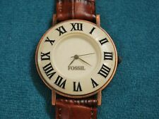 Nice FOSSIL Stone Bezel Lady's Dress Watch