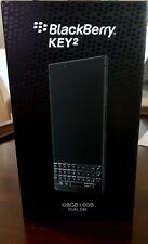 New BlackBerry Key2 128Gb Bbf100-6 Dual-Sim Black Edt. Factory Unlocked 4G Gsm