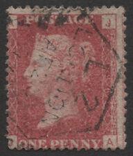 SG43 1877 1d. Rose-red pl. 196, JA. Fine used. E1374