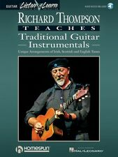 Richard Thompson Teaches Traditional Guitar Instrumentals Book & Audio 000841083