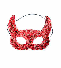 Masque rouge halloween