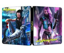 Cyberpunk 2077 Steelbook - sehr selten - NEU/NEW - Custom - NO GAME Steelcase