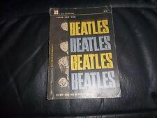 "GENUINE 1964  3/6  ""HERE ARE THE BEATLES BEATLES BEATLES BEATLES"" 100 NEW PICS"
