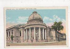Woolsey Hall Yale University New Haven USA Vintage Postcard 881a