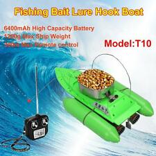 Updated T10 Bait Boat Carp Fishing RC Boilies Anti Grass Wind Remote Control