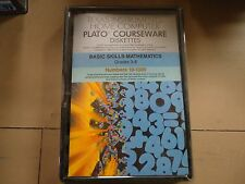 NOS NEW TI-99/4A PLATO BASIC SKILLS MATHEMATICS NUMBERS 10-1000 PHD5202