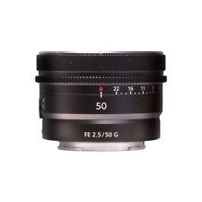 Sony FE 50mm f/2.5 G Lente SEL50F25G