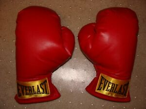 Everlast Youth Laceless Boxing Gloves Red Slip-on Small / Medium