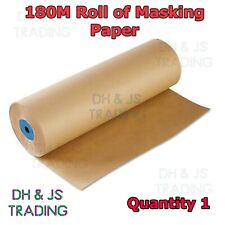 """18"""" Brown Masking Paper 450mm x 180 Metres Automotive Spray Paint Sheeting Paint"""