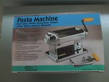 Amaco Stainless Steel Pasta Machine For Clays & Soft Metal Sheets Model12381S