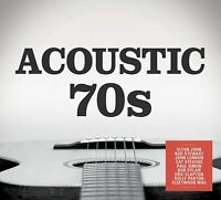 ACOUSTIC 70'S 3 CD VARIOUS ARTISTS 2017