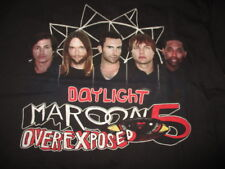 """2013 Maroon 5 """"Daylight Over Exposed"""" North American Concert Tour (Lg) T-Shirt"""