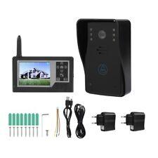 """2.4GHz Wireless Videocitofono Fotografa Monitor 3.5"""" LCD Colori Kit"""