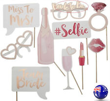 Hen's Night Bride to Be Party Bachelorette Selfie Photo Booth Prop Game Sign