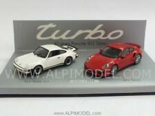 Porsche 911 Turbo Set 40 Years Anniversary 1:43 MINICHAMPS WAP0200120E