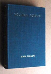 John Barrow Mountain Ascents in Westmoreland & Cumberland Illus 1st Ed 1886