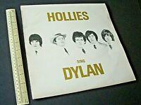 Hollies Sing Dylan - 1st UK Vinyl LP Mono Album PMC7078 Parlophone/EMI. 1969.